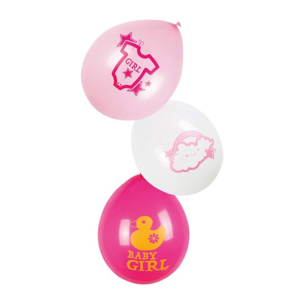 Ballon Baby Girl roze