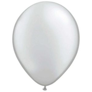 Ballon Zilver Metallic